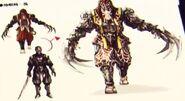 NG2 Art Enemy Ninja Claw 3a