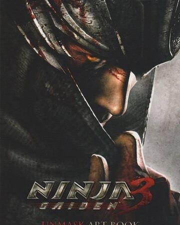 Ninja Gaiden 3 Unmasked Art Book Ninja Gaiden 2004 Wiki Fandom