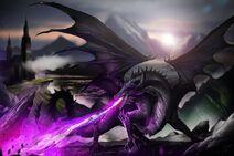 Nyx the black dragon by doomguy26-dbrqvsh