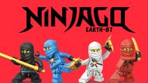 Ninjago Earth-87 Poster