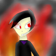 Corrupted birthday drawing for lord garmadon by ssjwildcat-d64lio5