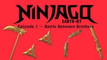 Ninjago Earth-87 S1E1 Title Card