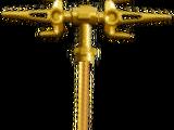 Double tri-scythe