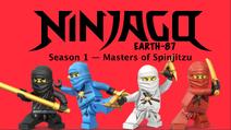 Ninjago Earth-87 S1 Title Card