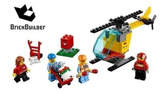 Lego City 60100 Airport Starter Set - Lego Speed Build