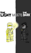 The Light Meets the Dark