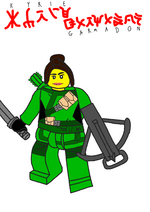 Kyrie Garmadon Drawn figure