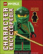 Character Encyclopedia New Edition Early Cover