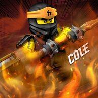Ninjago S11 Cole Poster (Square Sized)