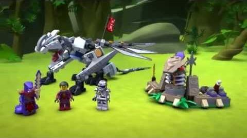 Lego Ninjago Sets El Dragón de Titanio