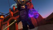 Garmadon regaining his Destructive Element