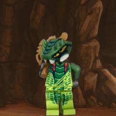 Lizaru desde el sitio web Ninjago (2012)