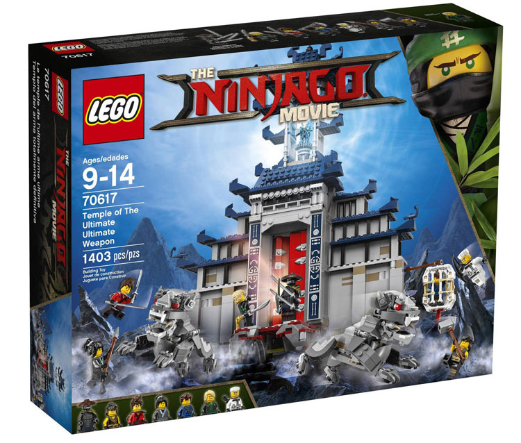 70617 Temple of the Ultimate Ultimate Weapon | Ninjago Wiki ...