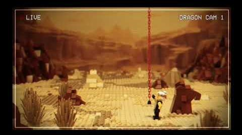 LEGO Ninjago Season 9 Bonus The Dragon Cam Episode 1 Wu Turned Off the Lights? MD