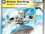 Card 59 - Snow Surfin'