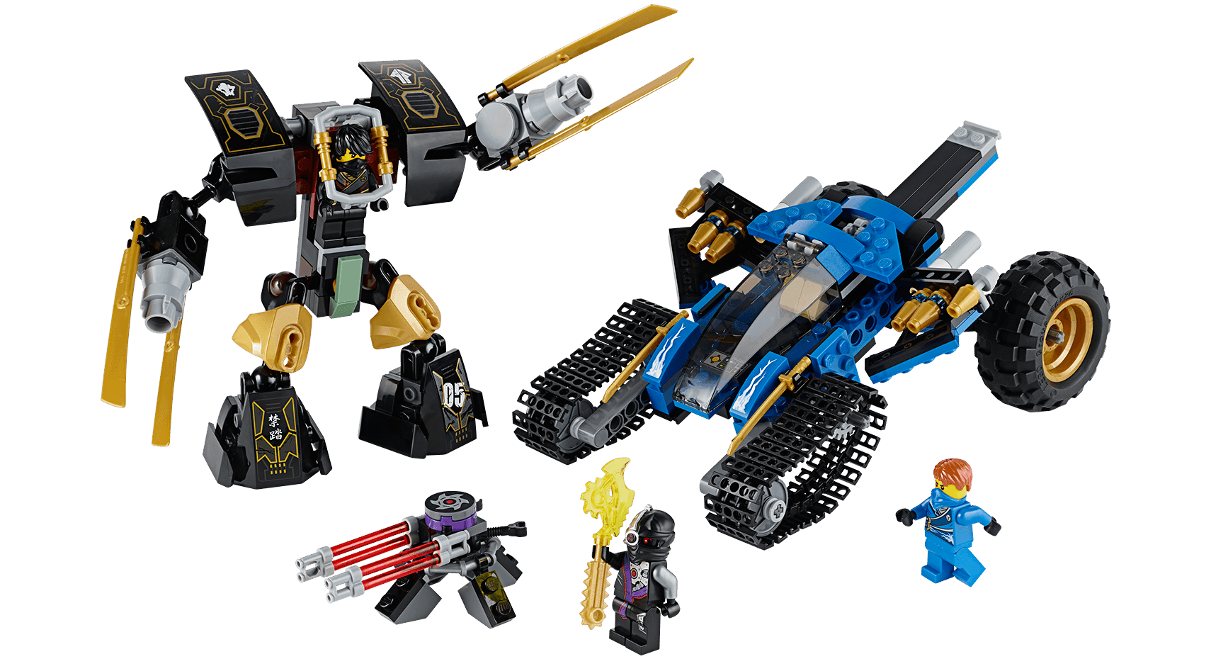 70723 thunder raider - Legocom Ninjago