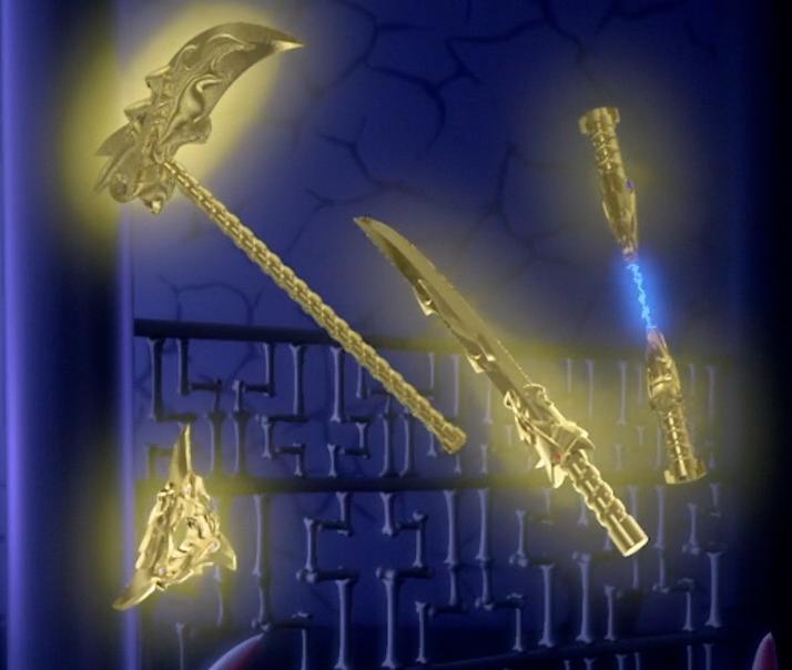 Golden Weapons Ninjago Wiki Fandom Powered By Wikia