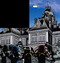 Comic Garmadon City Hall