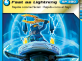 Card 53 - Fast as Lightning