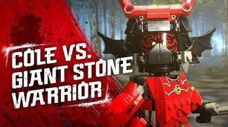 Cole's Earth Driller – Cole and Kai vs. Giant Stone Warrior - LEGO NINJAGO - 70669