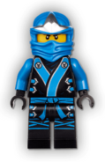 Elemental Jay Minifigure