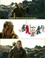 Legolas Ninjago Thing