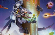 Nindroid MechDragon, Lloy and Kai in Poster