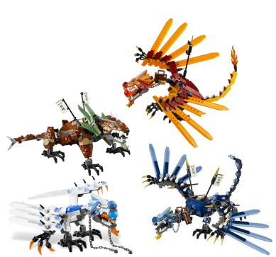 Dragons ninjago wiki fandom powered by wikia - Lego ninjago dragon a 4 tetes ...