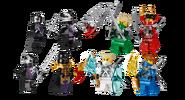 70728 Battle for Ninjago City Minifigures