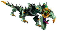 70612 Green Ninja Mech Dragon Reveal 11