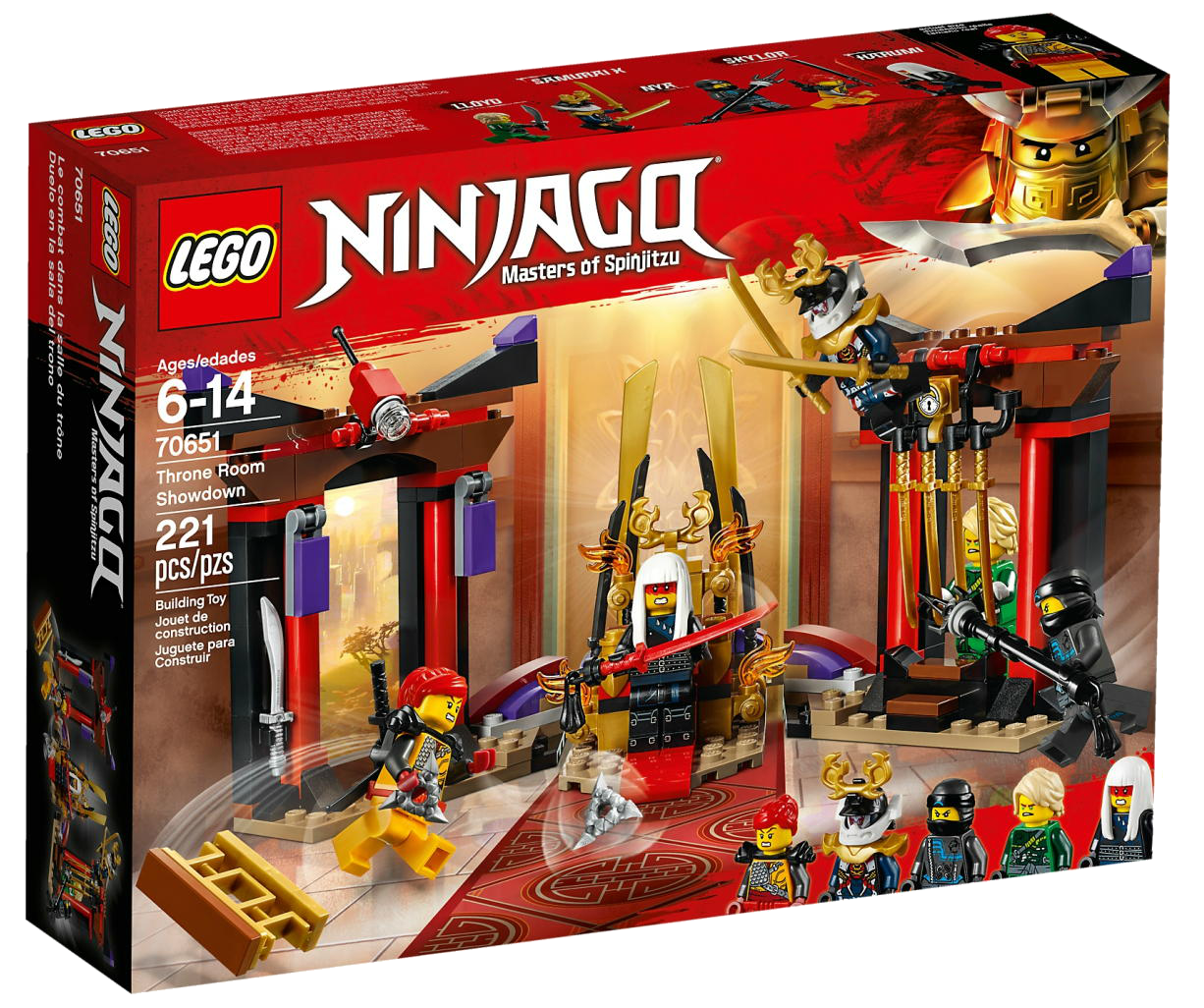 Harumi  Hunted LEGO® Ninjago from 70651