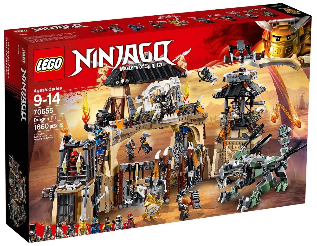 Lego Ninjago 70608 NINJA MASTER FALLS Sensui Wu Skeleton Kai Jungle Garmadon NEW