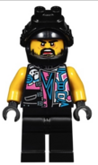 Minifig njo414 Sons of Garmadon Biker