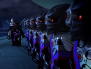 Nindroids in TV Episode 3