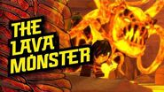 In the Skull Dungeons 'The Lava Monster' – LEGO® NINJAGO® Master of the Mountain