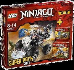 66394 3 in 1 Super Pack