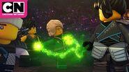 Ninjago The Ninjas Battle A River Monster Cartoon Network