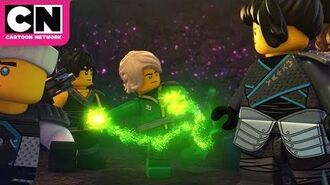 Ninjago The Ninjas Battle A River Monster Cartoon Network