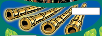 Comic Golden Flutes