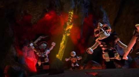 2011 LEGO Ninjago - Red Ninja Kai