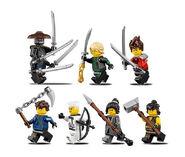 70617 Minifigures