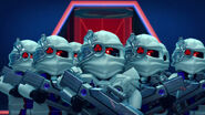 The Army of White Nindroids