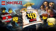Ninjago 4D Movie Poster