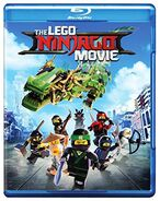 The LEGO Ninjago Movie Blu-Ray DVD