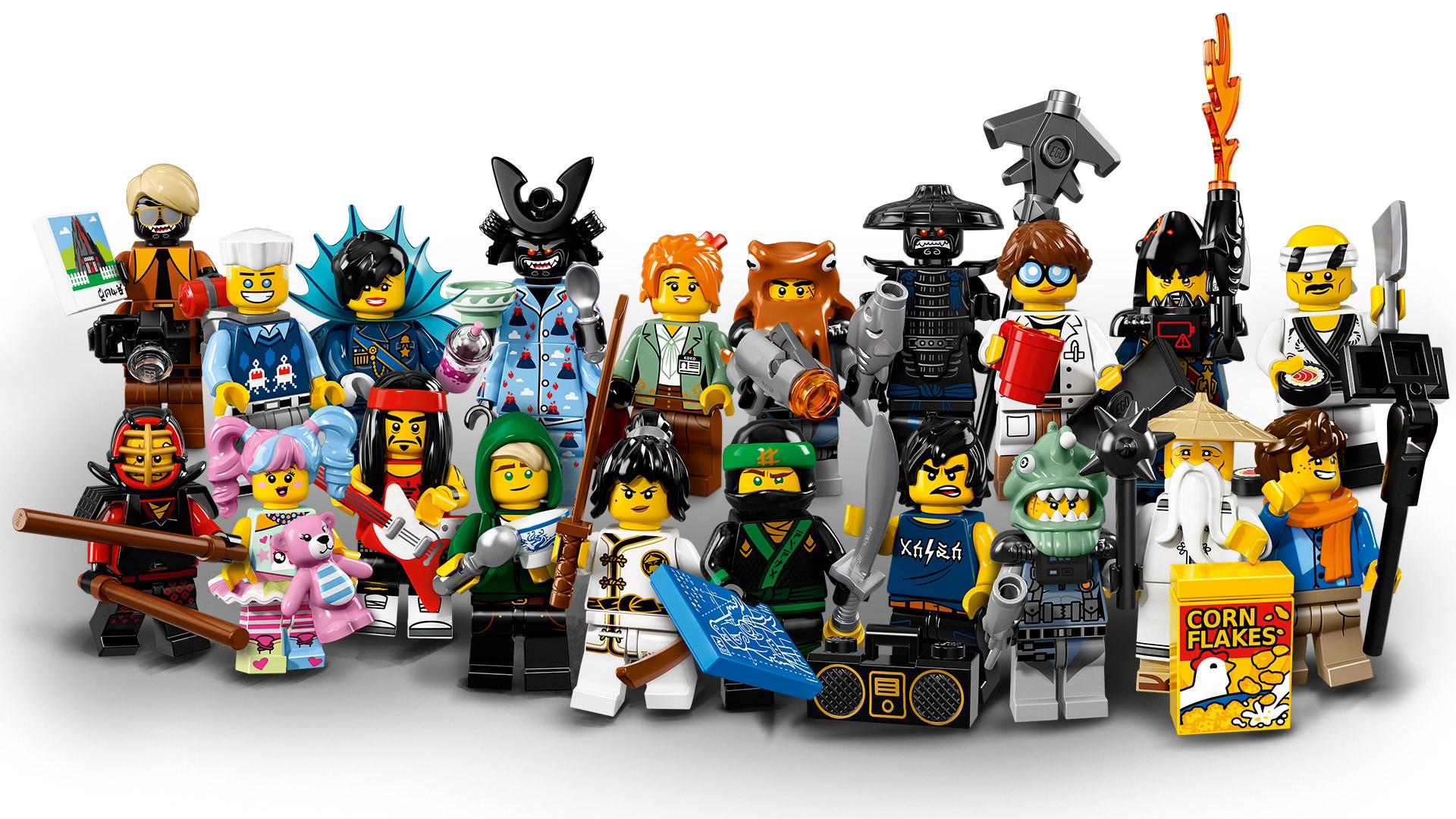 Shark Army Great White Minifigure 71019 Ninjago Movie Series Lego