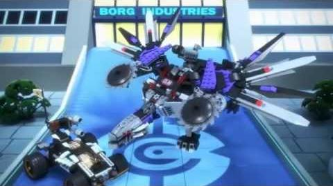 LEGO Ninjago Rebooted El Dragon Mecanico Nindroide