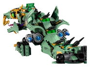 70612 Green Ninja Mech Dragon Reveal 13