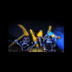 Kruncha y Nuckal con las Cuatro Armas Doradas