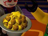 Суп из яиц рогатой осы