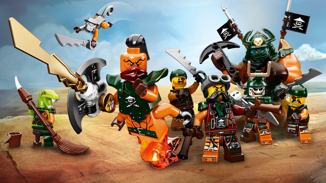 sky pirate crew - Legocom Ninjago